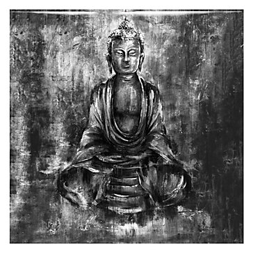 Silver Buddha - Glass Coat