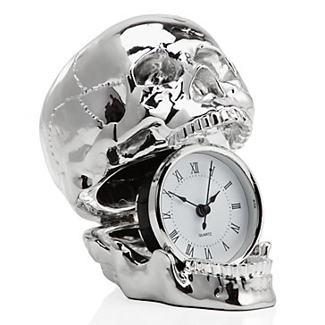 Skull Clock from Z Gallerie