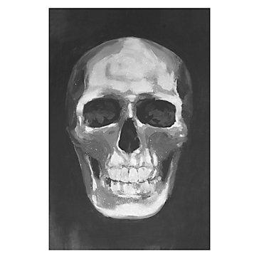 Skull Grey Diamond Dust