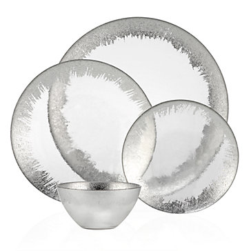 Solaris Dinnerware - Sets of 4  sc 1 st  Z Gallerie & Solaris Dinnerware - Sets of 4 | Set the Table | Entertaining Guide ...