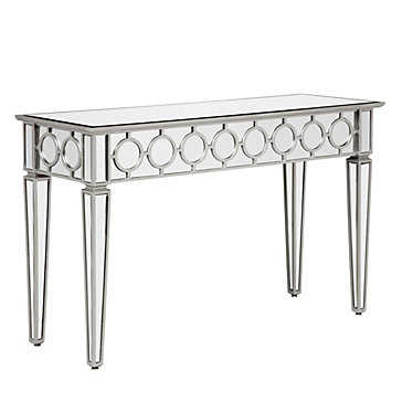 Mirrored Console Table Contemporary Classy Z Gallerie
