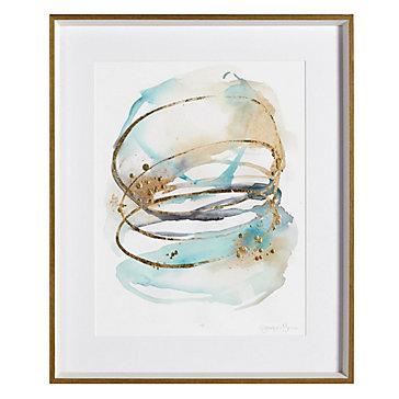Spiral Bloom Aqua 2 - Limited Edition