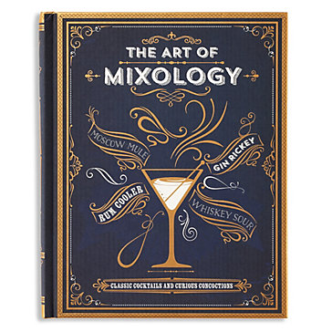 The Art Of Mixology Stationery Amp Books Decor Z Gallerie