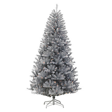Tinsel Pre Lit Tree by Z Gallerie