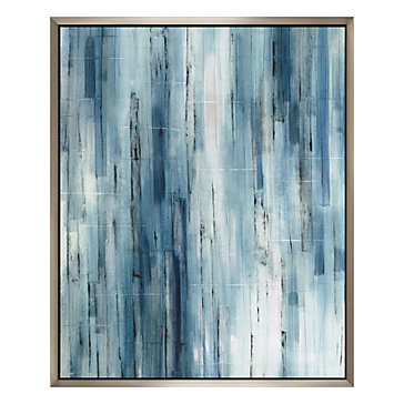 Transparent Of Blues - Original Art