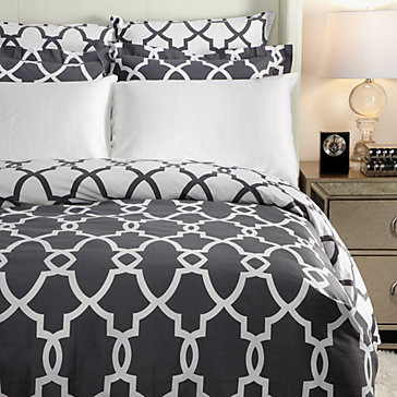 Tribeca Bedding - Charcoal