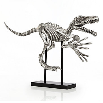 Velociraptor Dinosaur Objects Of Art Decor Z Gallerie