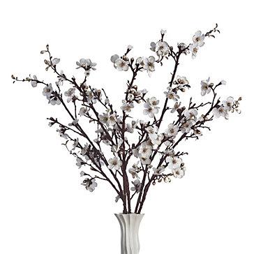 Velvet Blossom Branch - Set of 3