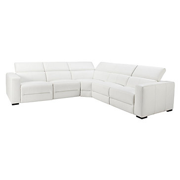 Verona Sectional - White