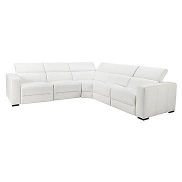 Verona Sectional - White