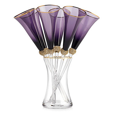 Victoria Toasting Flutes - Set of 6