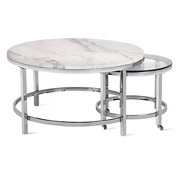 Vincente Coffee Table Set Of 2 Hampstead Vincente Living Room