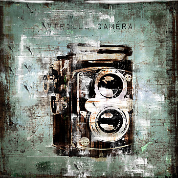 Vintage Camera - Glass Coat