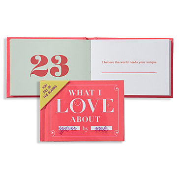Quot What I Love About You Quot Book Unique Novelty Books Z