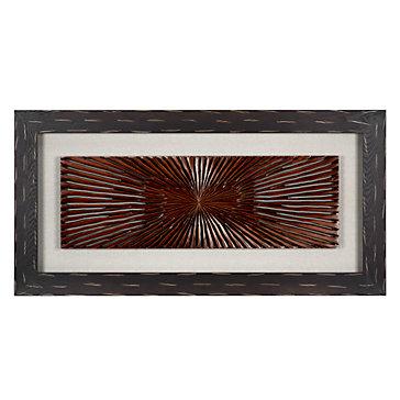 Wood Carved Starburst