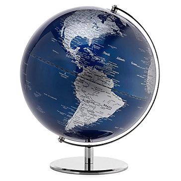 World Globe - Sapphire