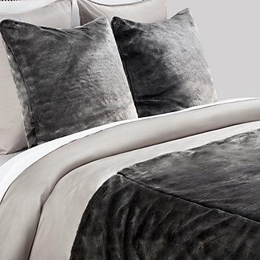 York Bedding Collection – Black/Silver king