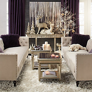 Delightful Entertain Roberto Living Room Inspiration