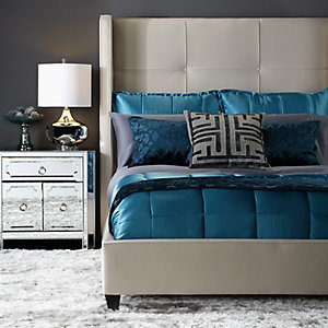turquoise bedroom furniture. ho15 bedroom3 Bedroom Inspiration  Z Gallerie