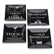 Cocktail Confessions Plates - Set of 4