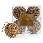 Victoria Ornament - Set of 4