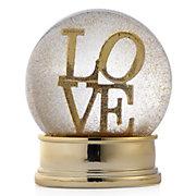Love Snow Globe
