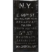 N.Y. - Glass Coat