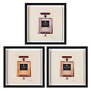 Bouteilles De Parfum - Set of 3