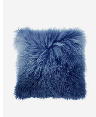 Ombre Mongolian Pillow