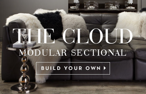 Exceptionnel The Cloud Modular Sectional