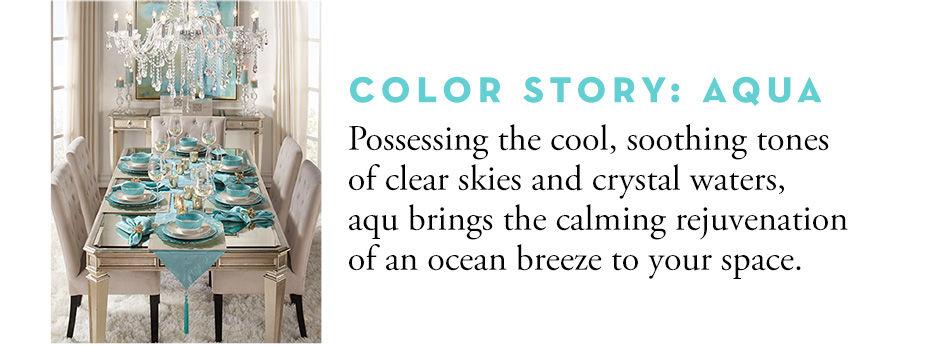 Color Story: Aqua