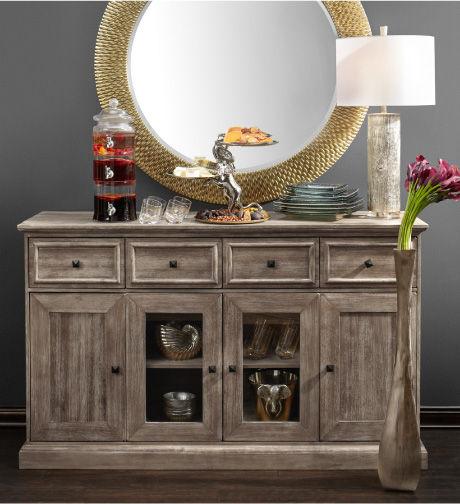 Archer Buffet with the Bergmann Mirror