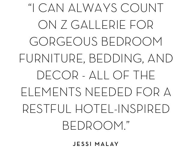 I can always count on Z Gallerie for gorgeous bedroom furniture...