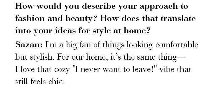 How would you describe your approach to fashion and beauty?