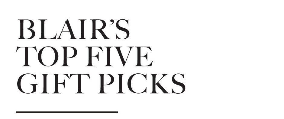 Blair's top picks for Fall