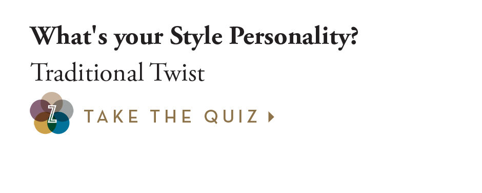 What's your style personality? Traditional Twist