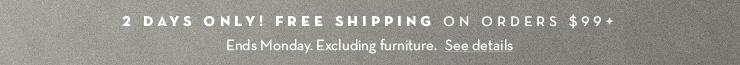 Free Shipping! See Details