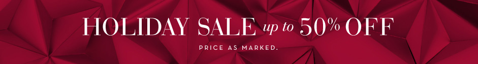 Up to 50% Off Sale - Priced as marked