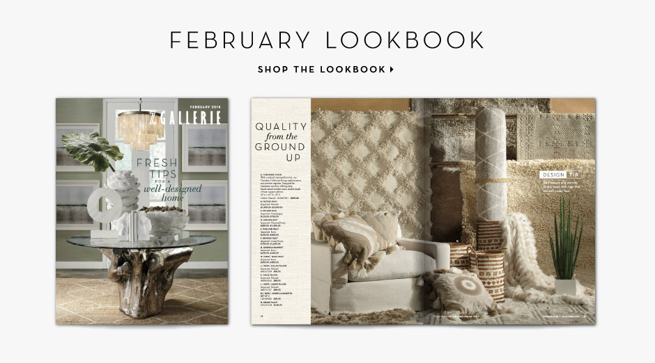 February Lookbook - View the new catalog