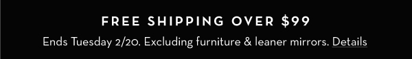 Free Shipping - See Details