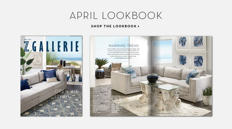 New: The April Lookbook