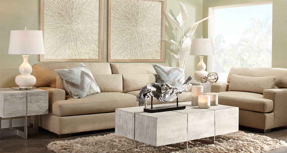 Parker Relaxed Living Room Inspiration