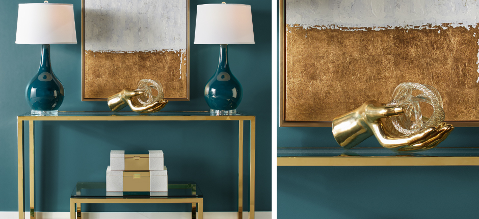 Gold Duplicity Entryway Inpiration
