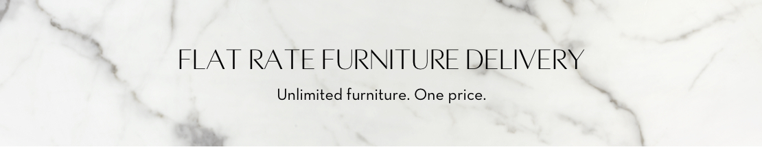 Flat Rate Furniture Delivery