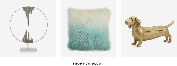 Shop New Decor