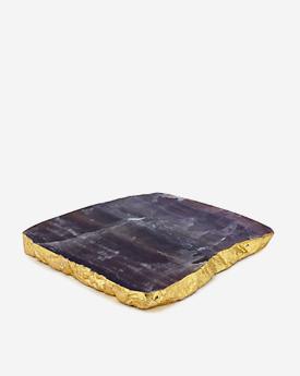 Fluorite Geode Serving platter