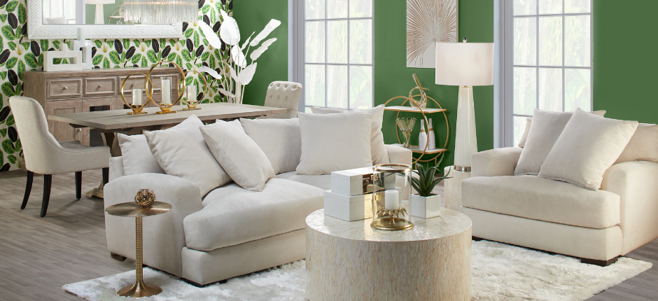 Stella Alexandria Living Room Inspiration