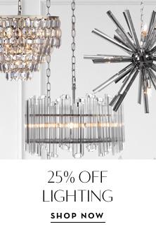 25% Off Lighting