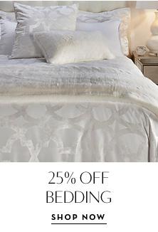 25% Off bedding