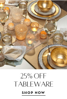 25% Off Tableware